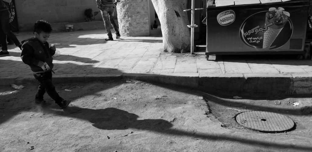 Sunday Stroll Black/White